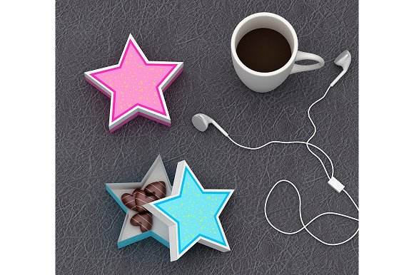 DIY Star Favor 3D Papercrafts