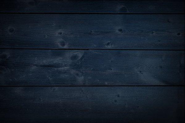 Dark Navy Wooden Background