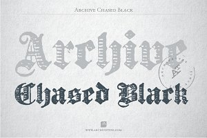 Archive Chased Black