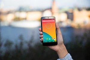 Nexus5 template, Stockholm2 (S)