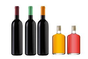 Pure Vector Bottles