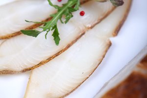 Fresh white fish