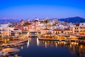 Crete island Greece.