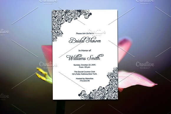 printable bridal shower invitation invitations