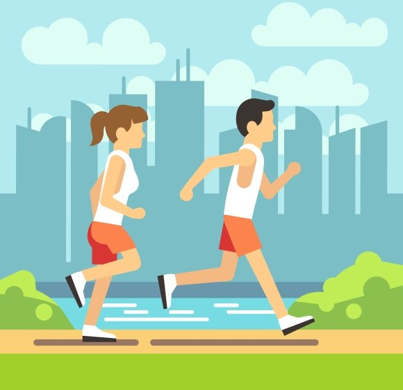 Jogging Sport People