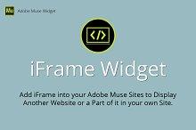 iFrame Adobe Muse Widget