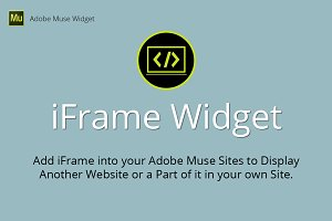 iFrame Adobe Muse Widget