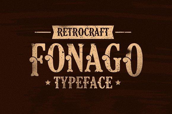 Fonago Typeface - Display