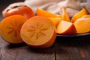 Japanese persimmon (Diospyros kaki)