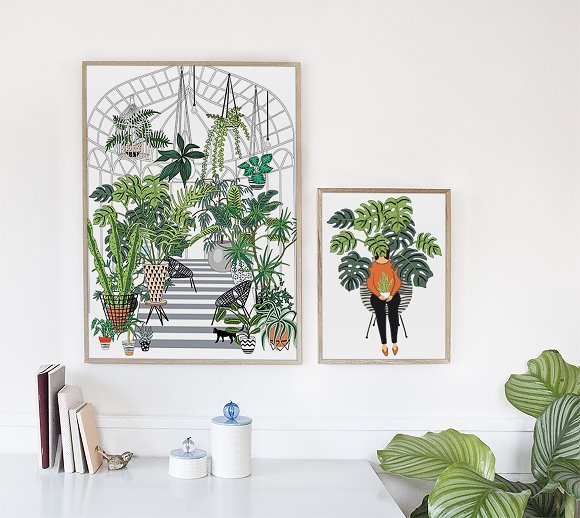 Interior creator in Illustrations - product preview 7