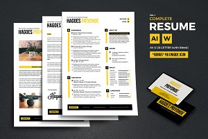 Complete Resume Vol 1