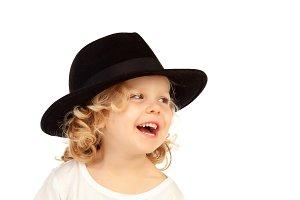 Funny little boy