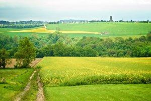 Belgium Rustic Landscape