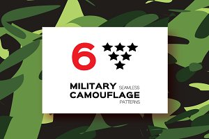 Camouflage. Military patterns