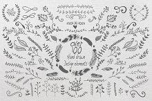 HandSketched design elements