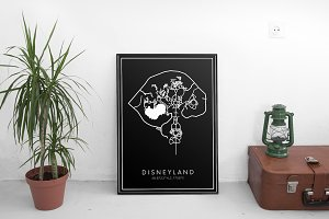 Disneyland Paris Map 2