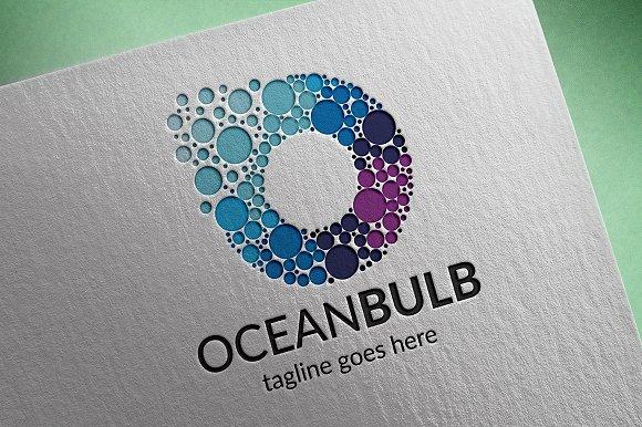 Ocean Bulb Logo