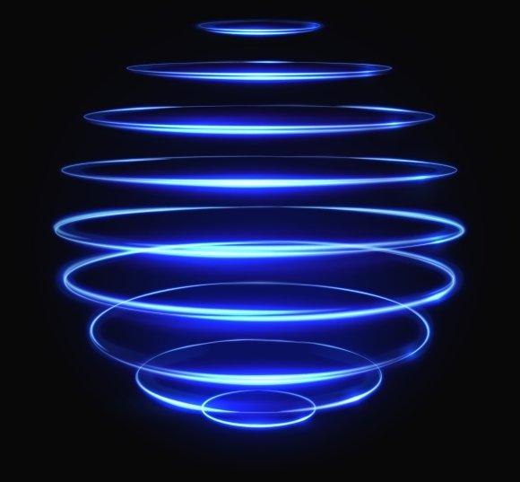 Light Glowing Sphere Effect
