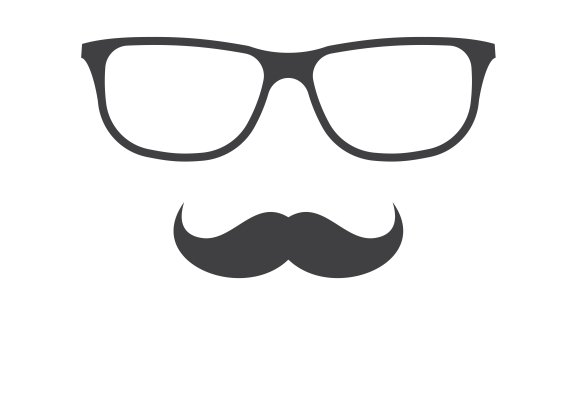 Glasses And Mustache Icons