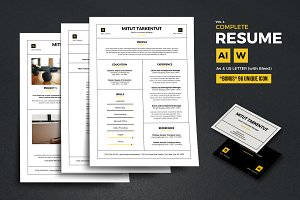 Complete Resume Vol 4
