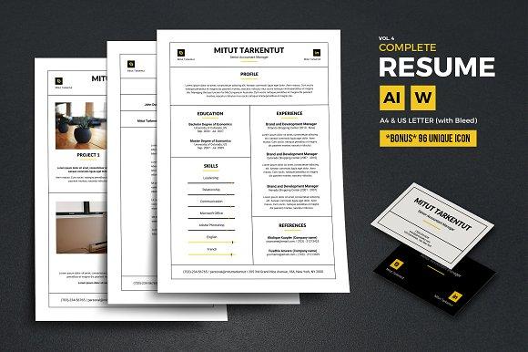 Complete Resume Vol 4