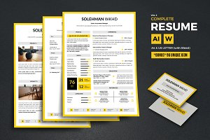 Complete Resume Vol 5