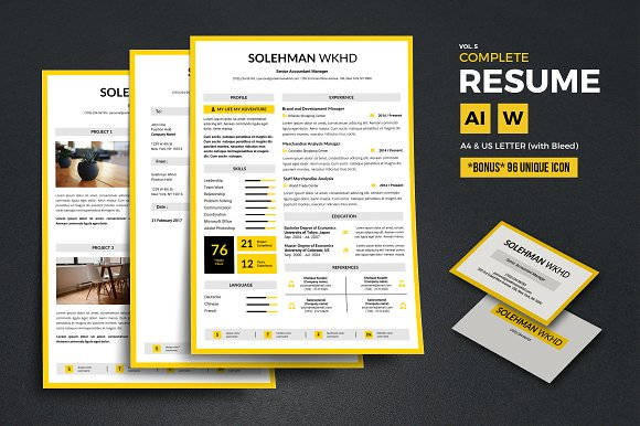 Complete Resume Vol 5