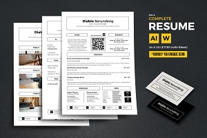 Complete Resume Vol 6