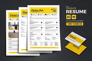 Complete Resume Vol 8