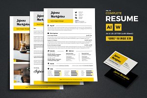 Complete Resume Vol 10