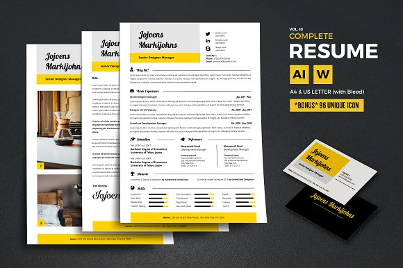 Complete Resume Vol 10