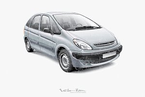 French Compact MPV