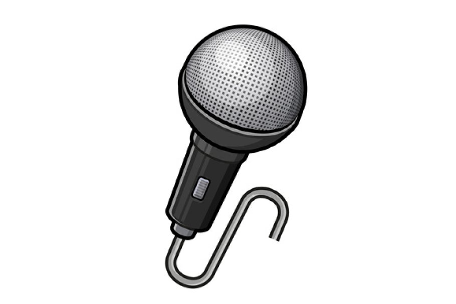 Microphone Icon in Icons