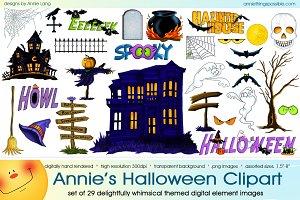 Annie's Halloween Clipart