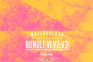 Watercolour bundle V1, V2 & V3