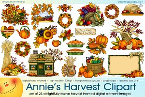 Annie's Harvest Clipart