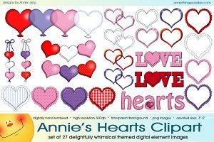 Annie's Hearts Clipart