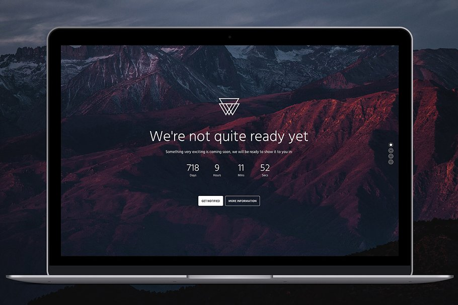 Bootstrap 4 Coming Soon Template Landing Page Templates Creative