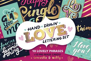 Love lettering | Valentine's Cards