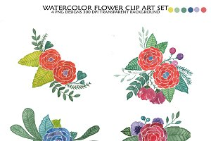 Flower bouquet clipart,