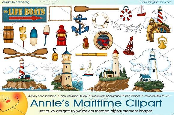 Annie's Maritime Clipart