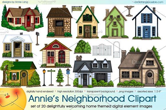 Annie's Neighborhood Clipart