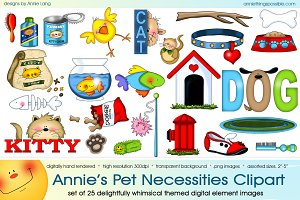 Annie's Pet Necessities Clipart