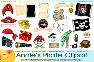 Annie's Pirate Clipart