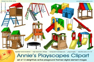 Annie's Playscapes Clipart