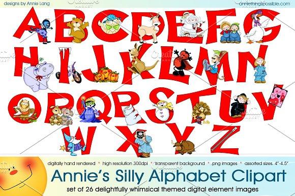 Annie's Silly Alphabet Clipart
