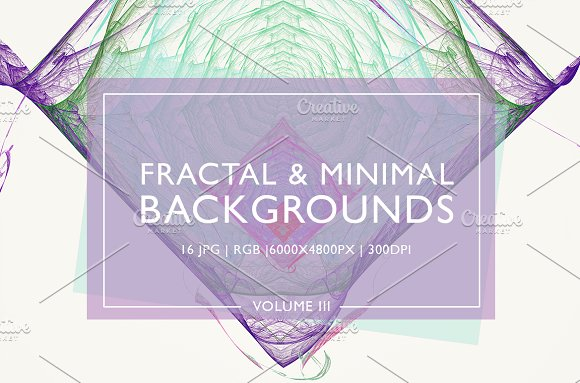 Fractal Minimal Backgrounds Vol 3