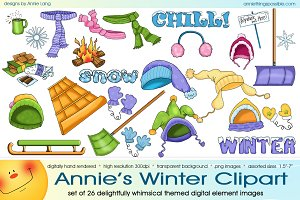 Annie's Winter Clipart