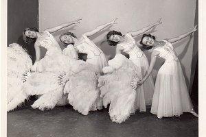 Vintage Fan Dancers