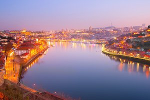 Beautiful Douro river. Porto